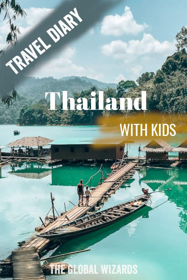 Thailand Khao Sok Kids Family Visit
