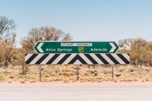 Road Trip Stuart Highway Adelaide Alice Springs Darwin