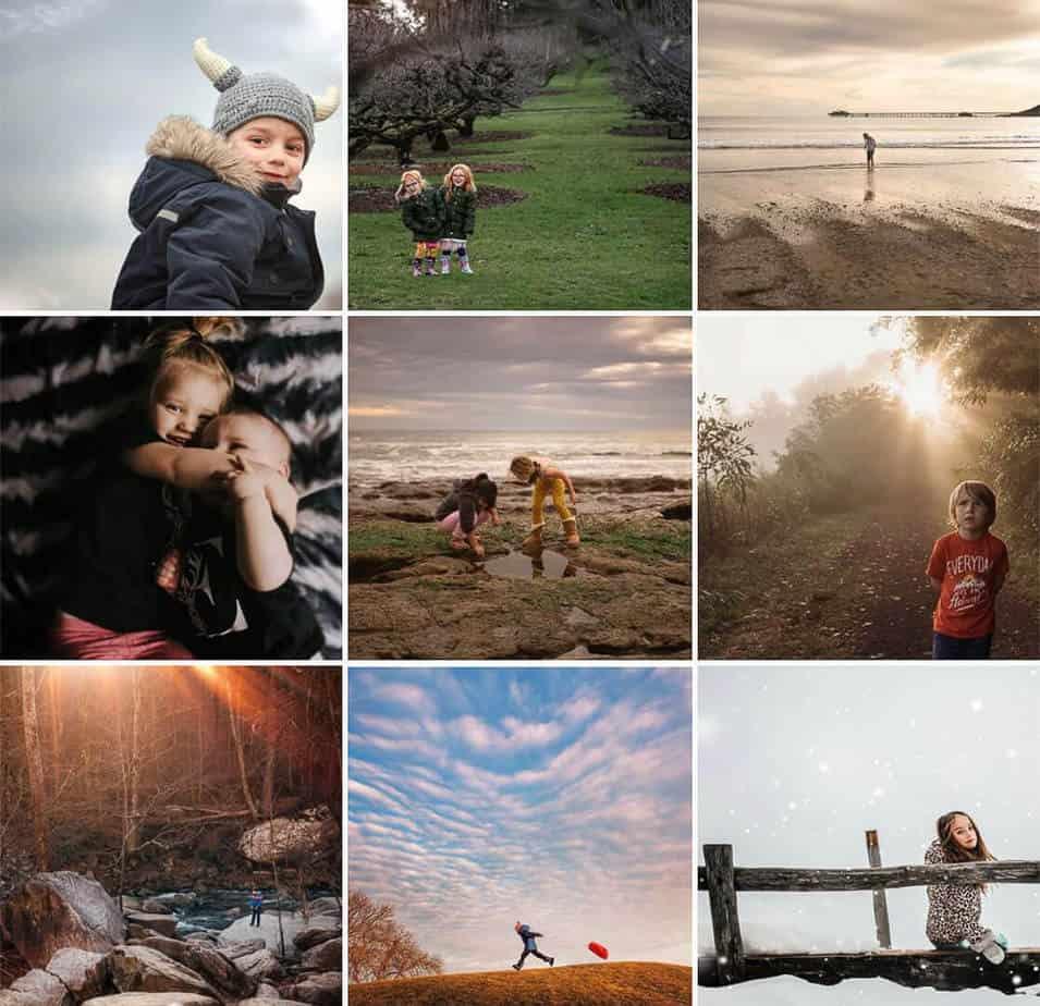 Woodland Kids Outdoor Explore Instagram Feature Account