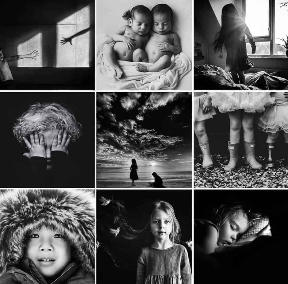 Kids Black And White Feature Page