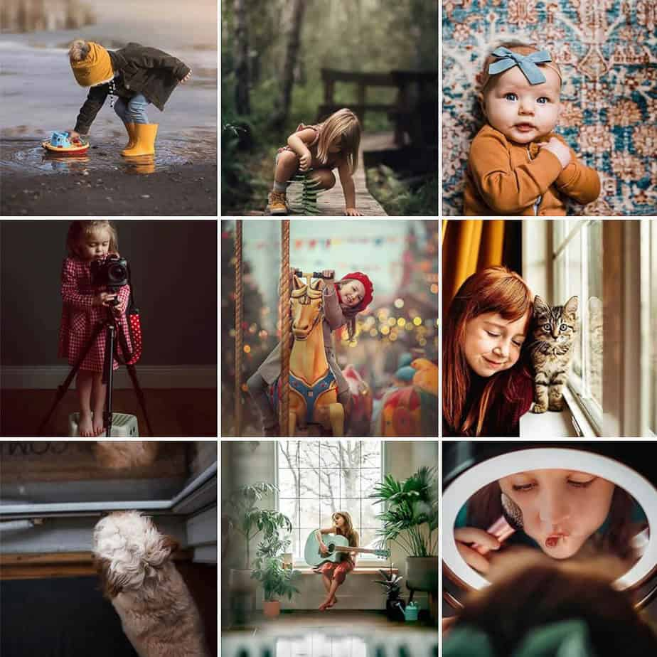 Shared joy Instagram Feature Account Kids Children Outside