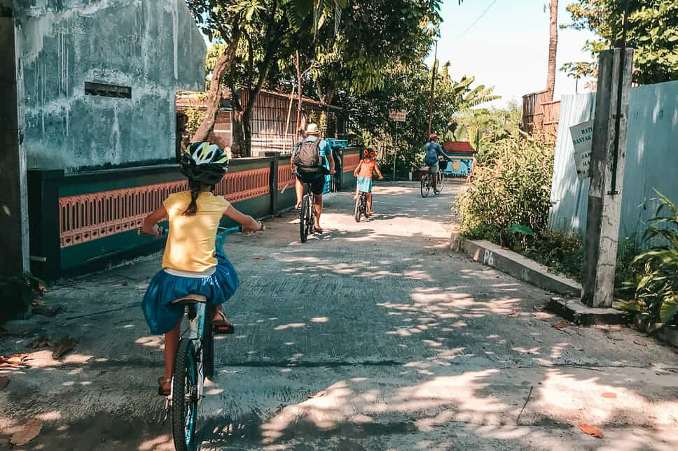 Kids Bike Tour Via Via Yogyakarta Java