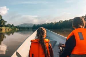 Kinabatangan River bucket list jungle experience in Borneo with kids