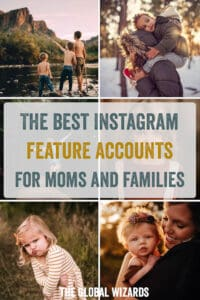Pinterest Best Instagram Feature Accounts Moms Family Life