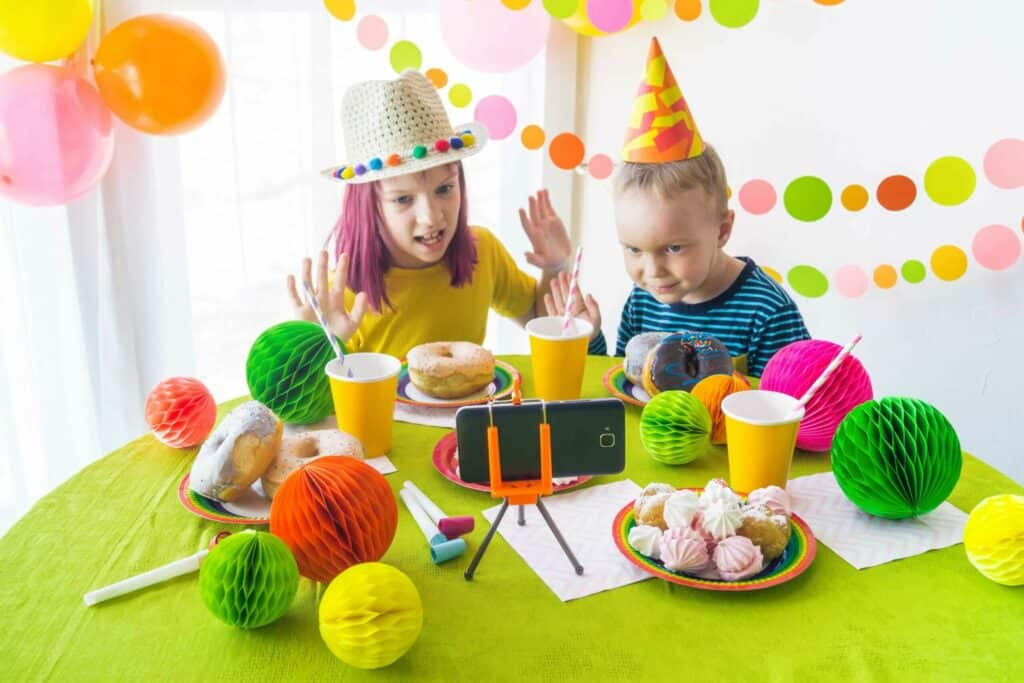Amazing ideas to organise a virtual birthday party for kids