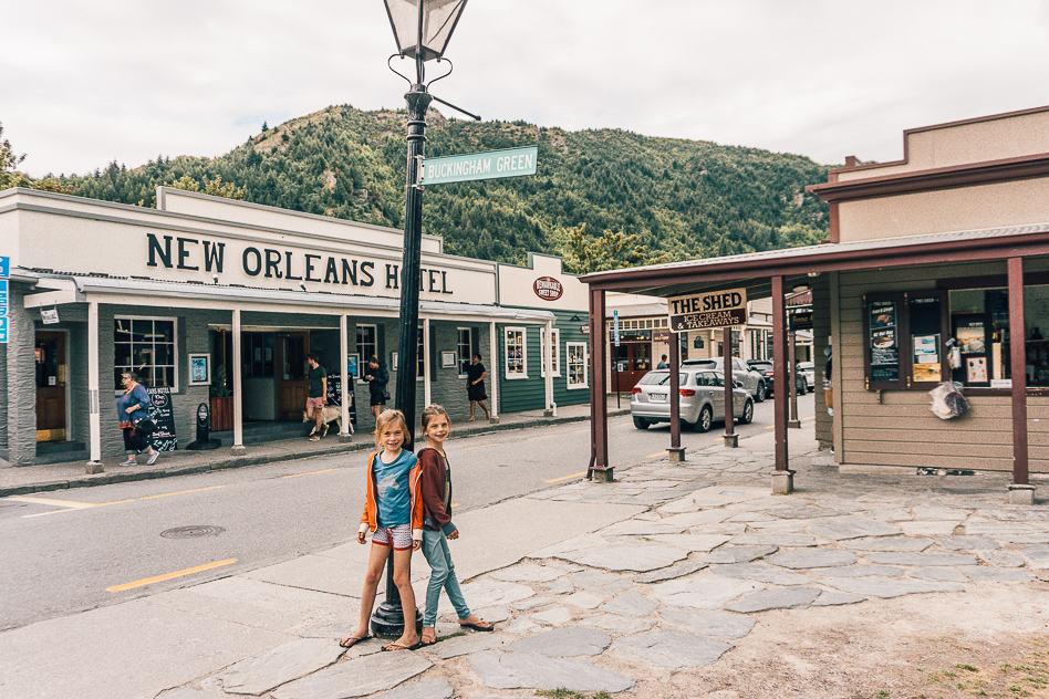 Arrowtown Gold Rush Town New Zealand Kids