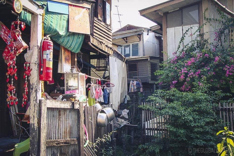 Fietstocht Bangkok Thailand Klongs