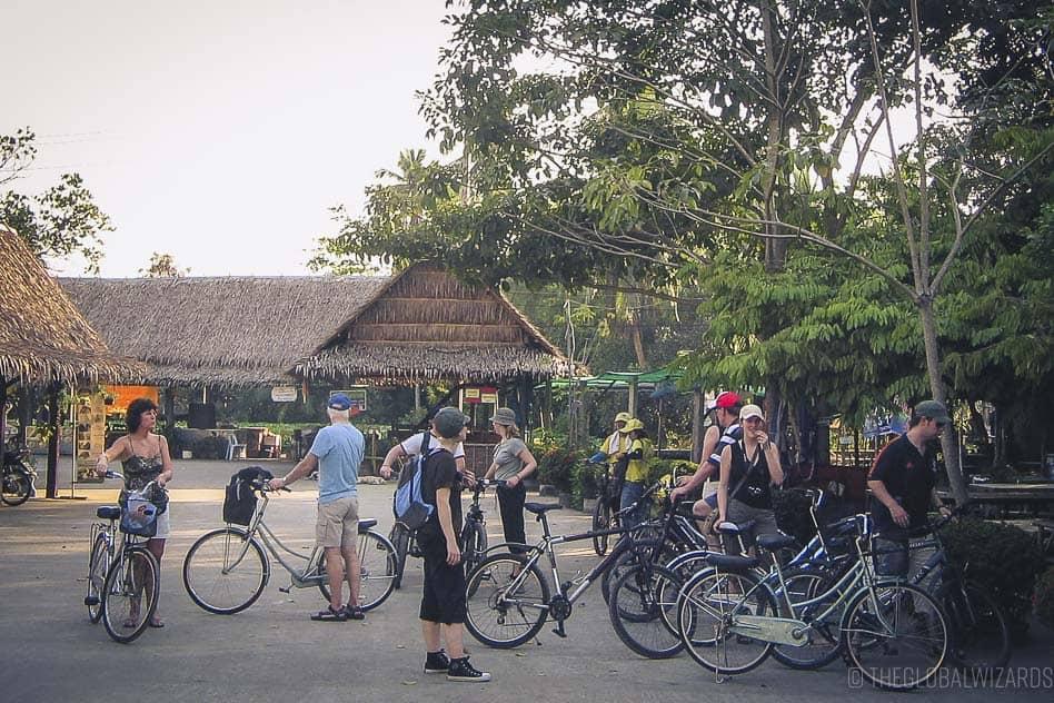 Bangkok Fiets Thailand