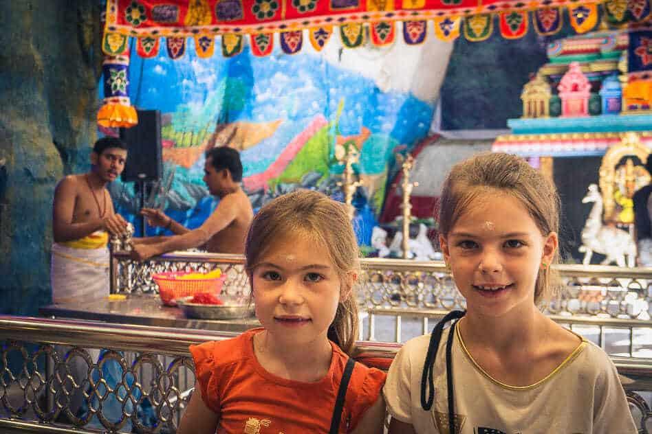 Batu Caves Hindu Kuala Lumpur Kids