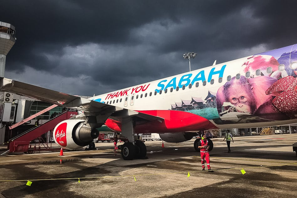 Air Asia is the perfect budget airline when you travel with kids on a budget