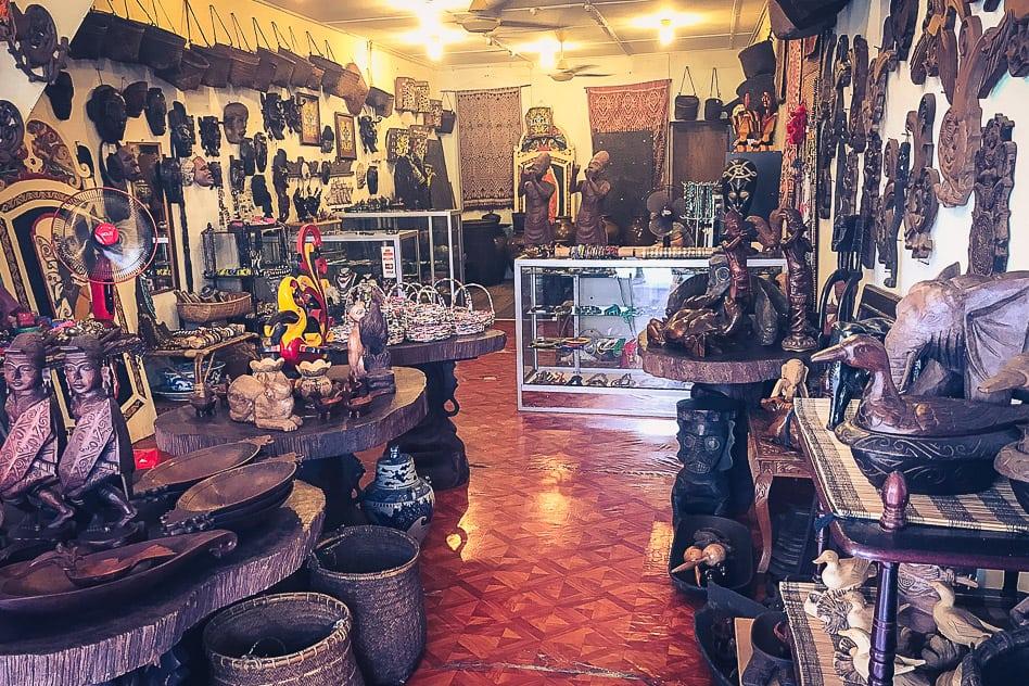 Kuching Main Bazaar Local Art Borneo