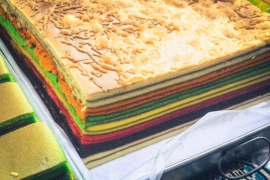Layered Cake Kek Lapis Kuching Borneo