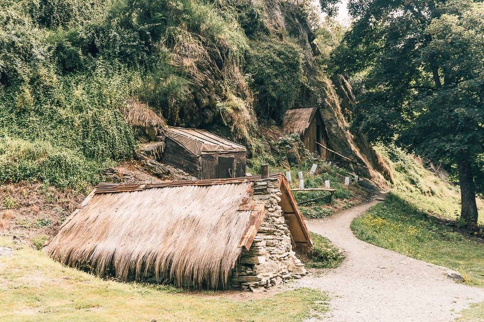 Arrowtown Chinese Settlement Gold Rush New Zealand