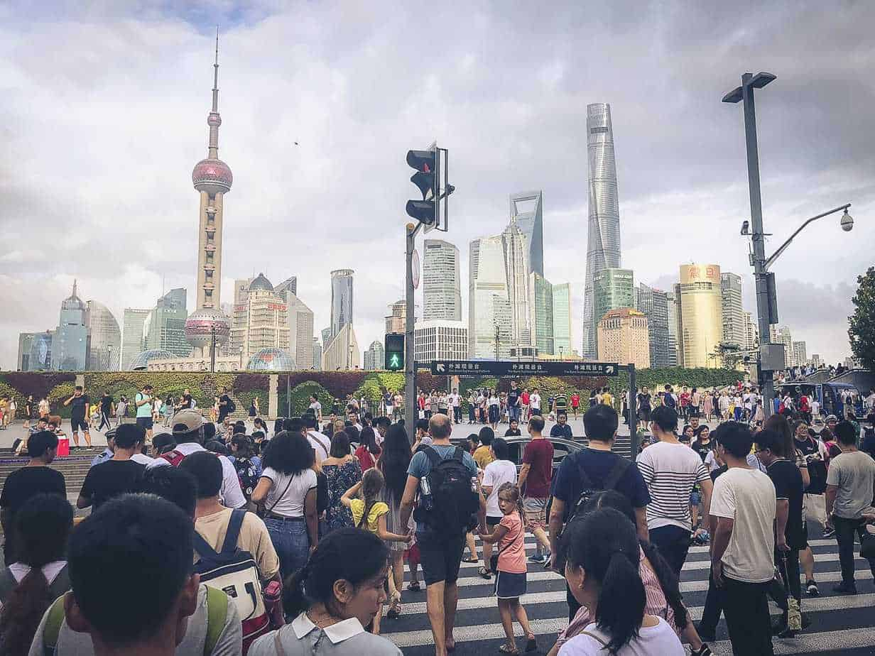 Busy Shanghai With Kids