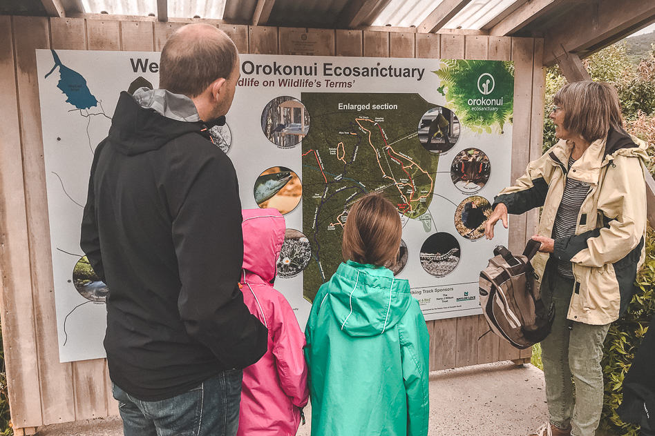 Orokonui Eco Sanctuary Guided Tour New Zealand