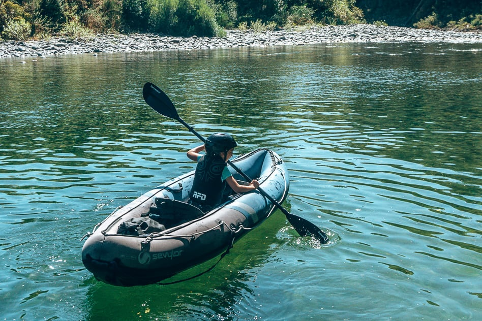 Pelorus River Eco Adventures Kayak Child Kid