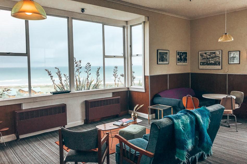 Hokitika Sixties Hostel Furniture Old