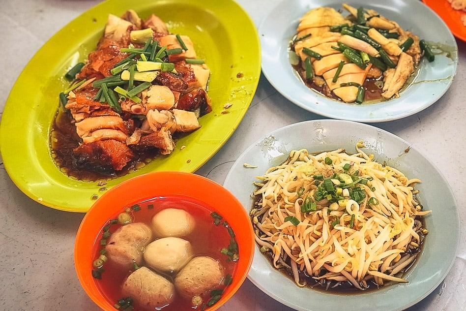 Ipoh Tauge Ayam Lou Wong Malaysia