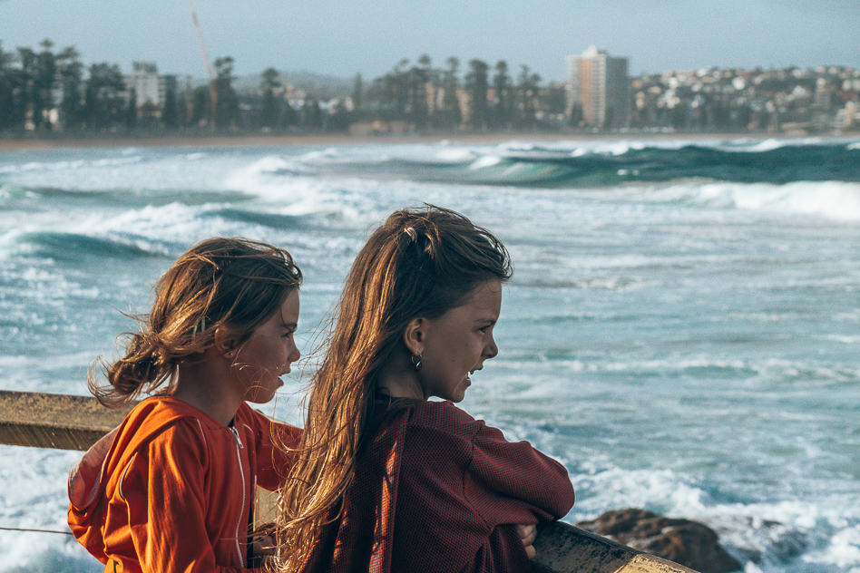 Manly Beach Sydney Waves Kids
