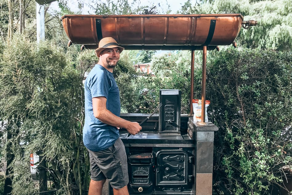 Quenstown Cooking Campground New Zealand