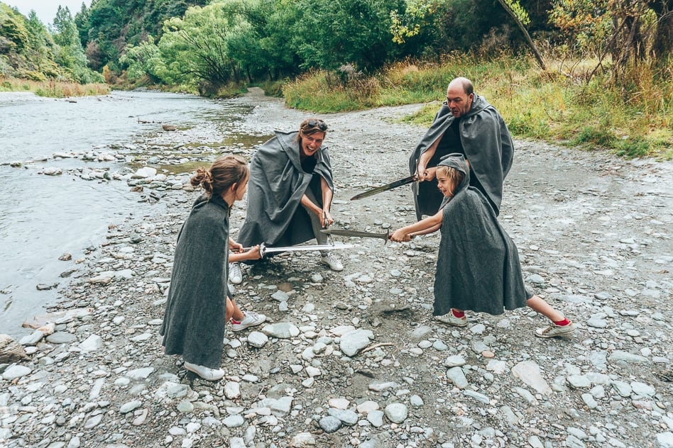 Family Fun Nomad Safaris Lord Of The Rings Scene