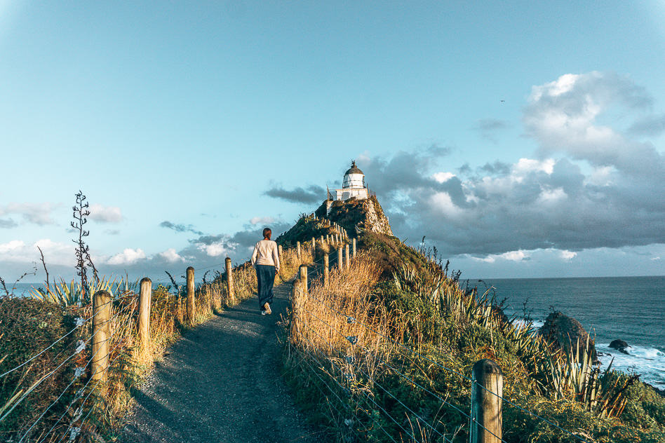 Nugget Point Catlins New Zealand Lighthouse