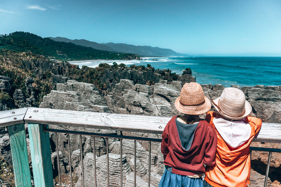 Pancake Rocks Views Nature New Zealand