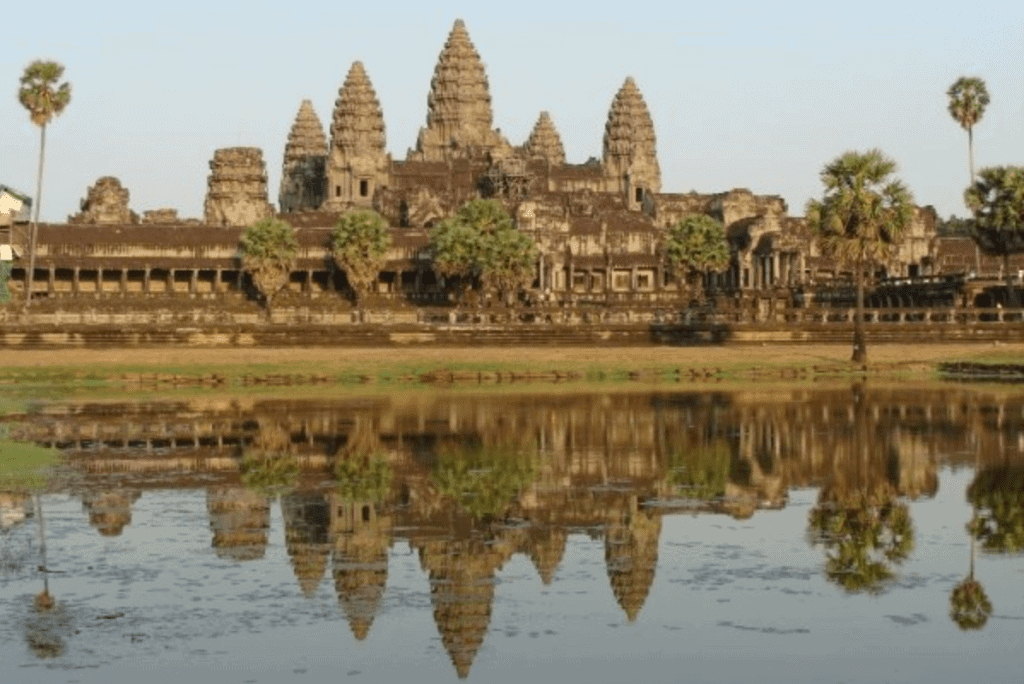 The temples of Angkor Wat in Cambodia are a family travel bucket list experience