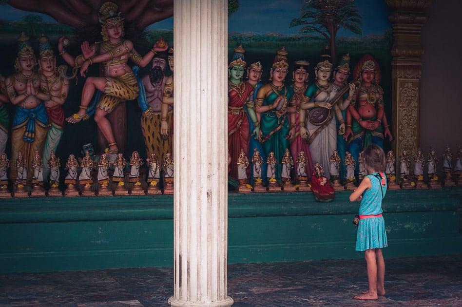 Sri Maha Mariamman Hindu Temple Kuala Lumpur