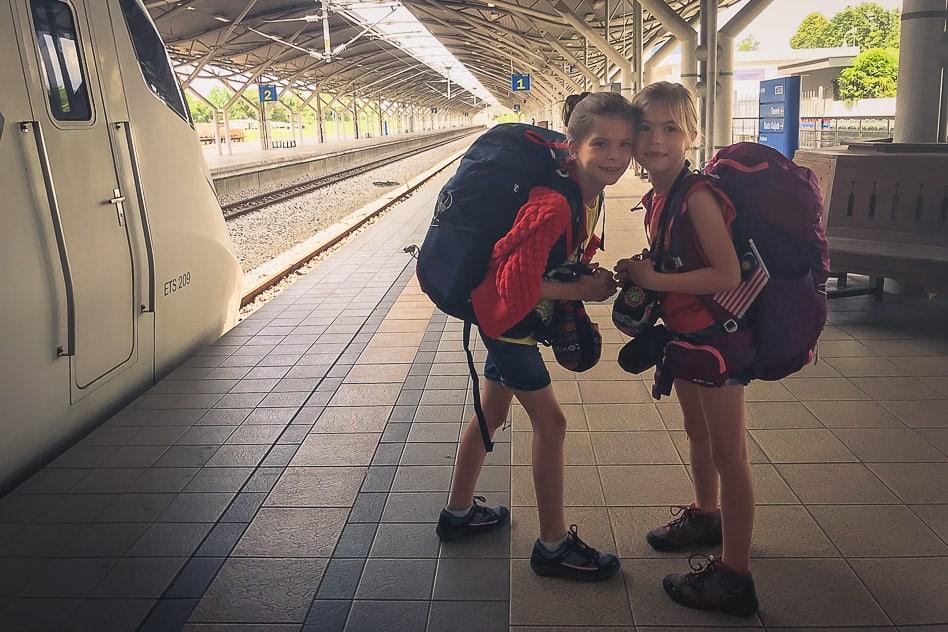 Train Station Ipoh Kuala Lumpur Malaysia