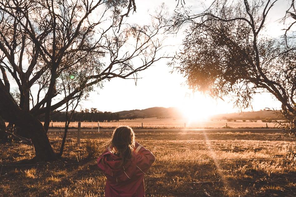 Wilmington Valley Sunset Australia