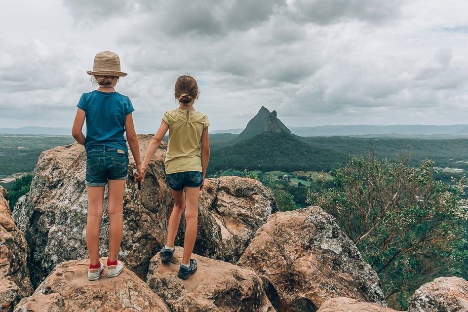 Mount Ngungun Glass House Mountains Australia Walk Climb