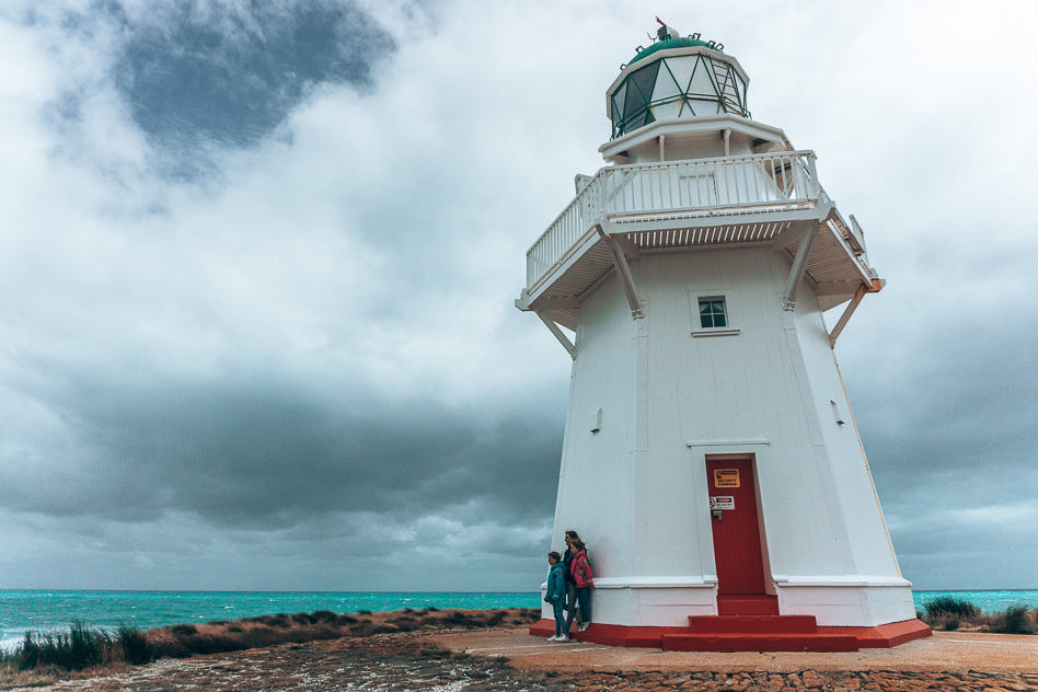 Lighthouse Catlins Nature Wind New Zealand