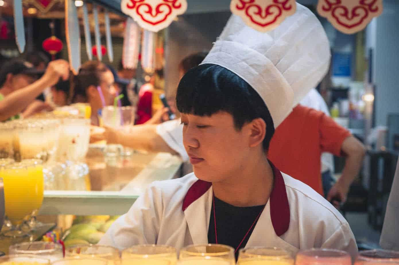 Food Court Yuyuan Shanghai Chef