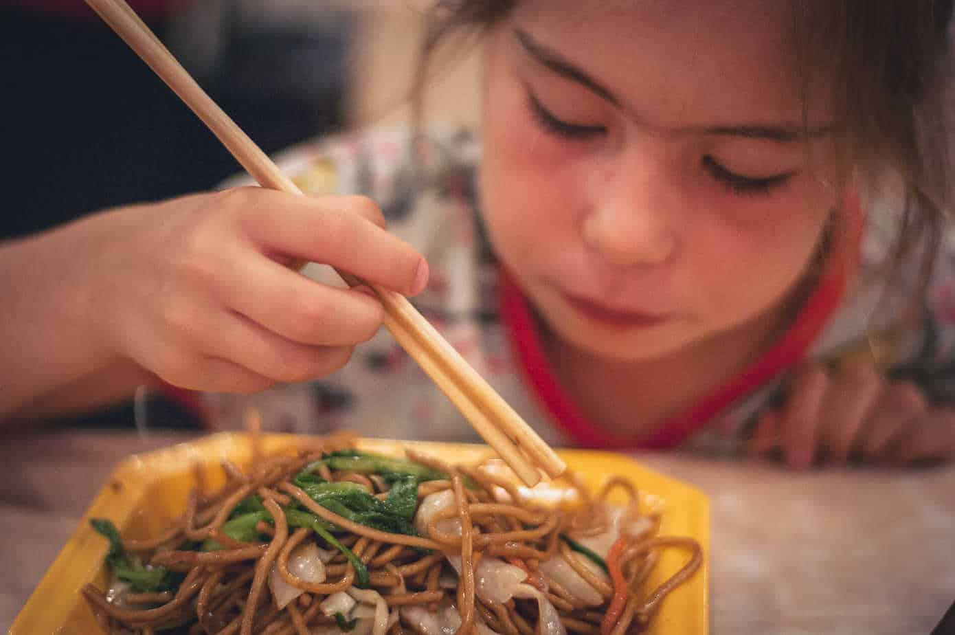 Food Court Yuyuan Kids Sticks Shanghai