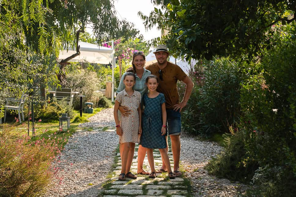 Procida Camp Resort Garden Island Family Glamping