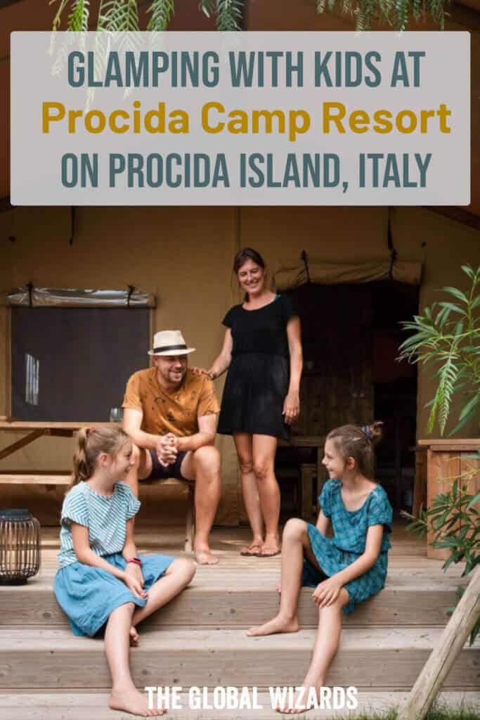 Family Glamping with Kids in Italy on Procida Island