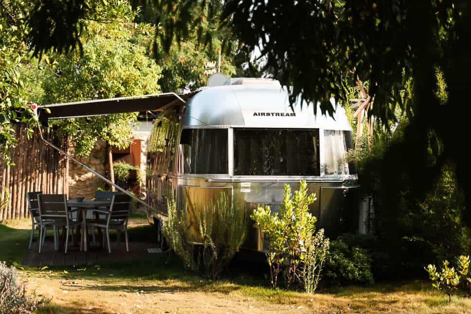 Luxury camping in italy airstream glamping caravan Procida Camp Resort