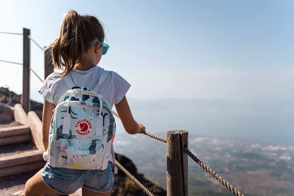 Fjallraven Kanken Art Mini Vesuvius Italy