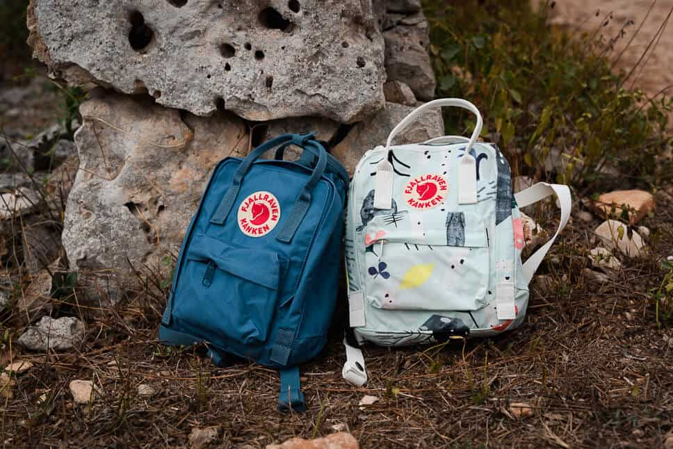 Durable Timeless Kanken Mini Art Fjallraven