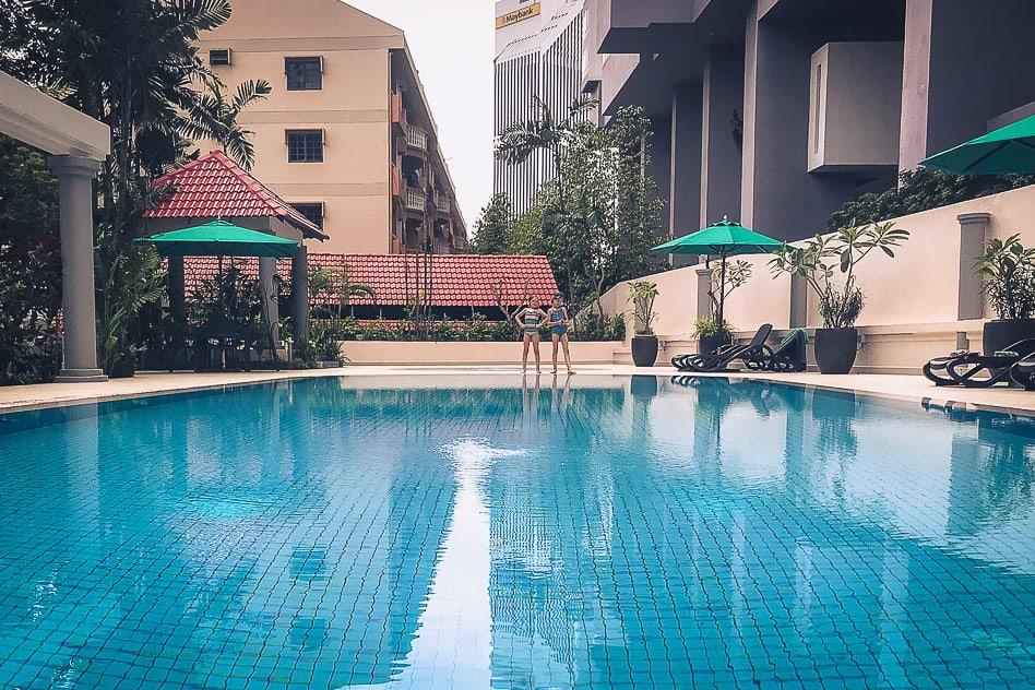 Airbnb Kuala Lumpur Swimming Pool