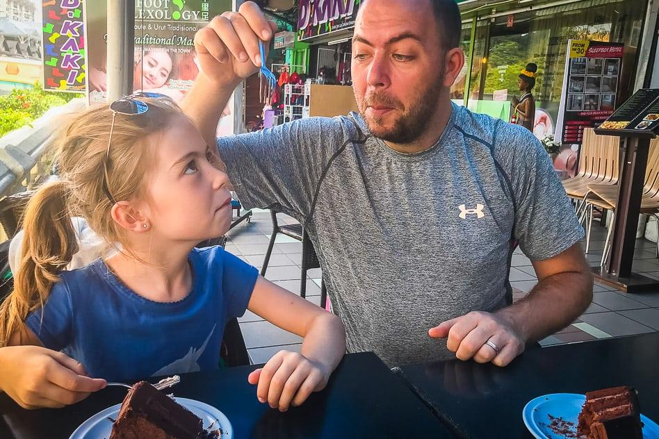 Tanah Rata Cake Kids Family Kinderen