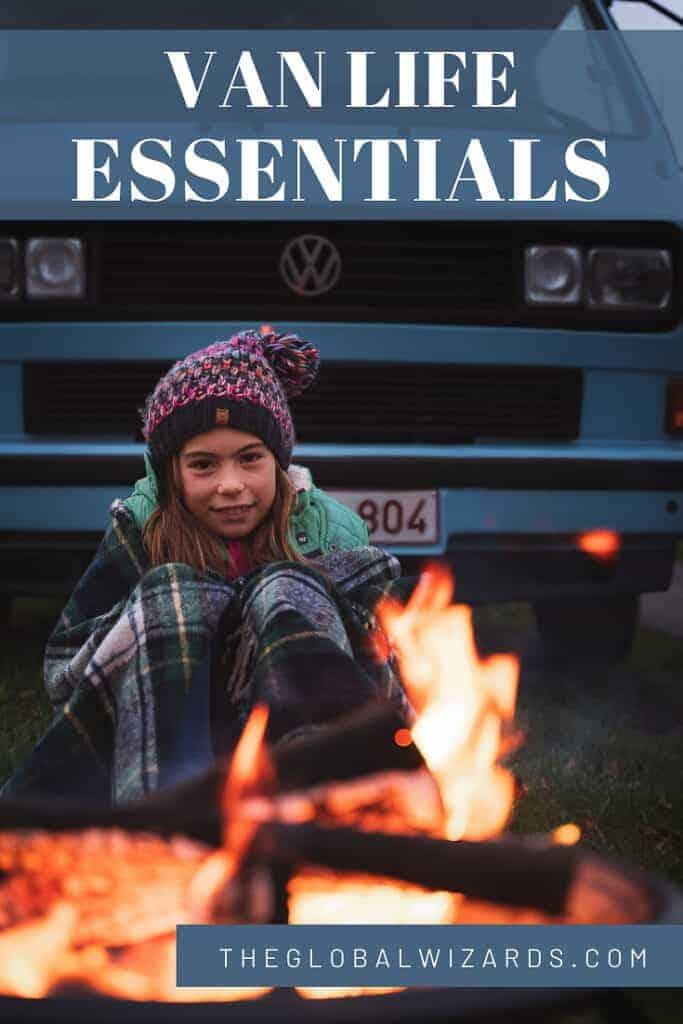camper RV essentials for van life