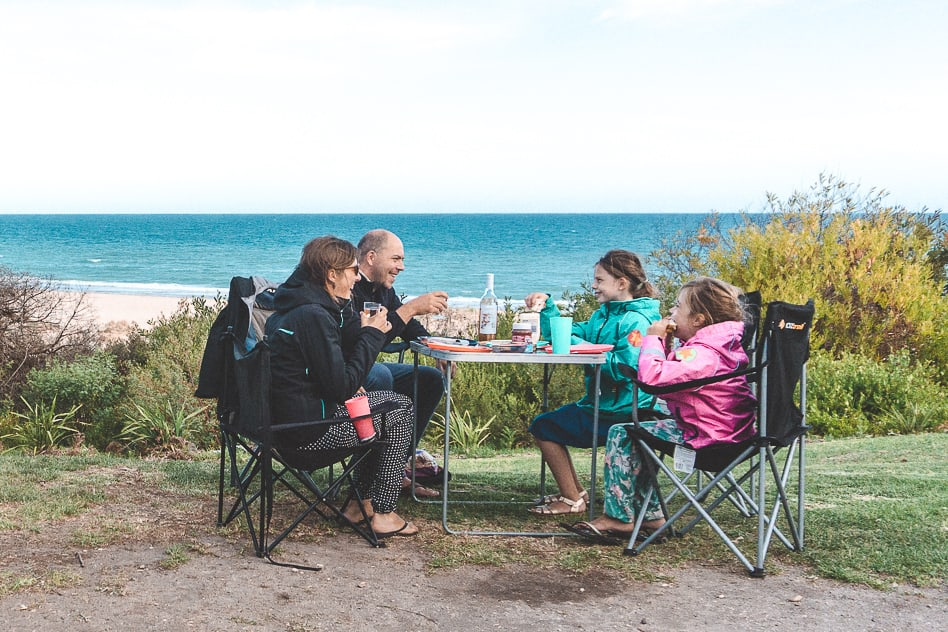 Camping Sea View Lake Tyers Victoria