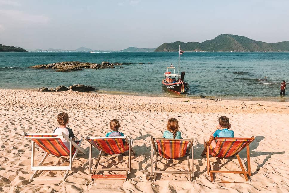Beach Holiday Phuket Koh Bon Rawai Family Kids