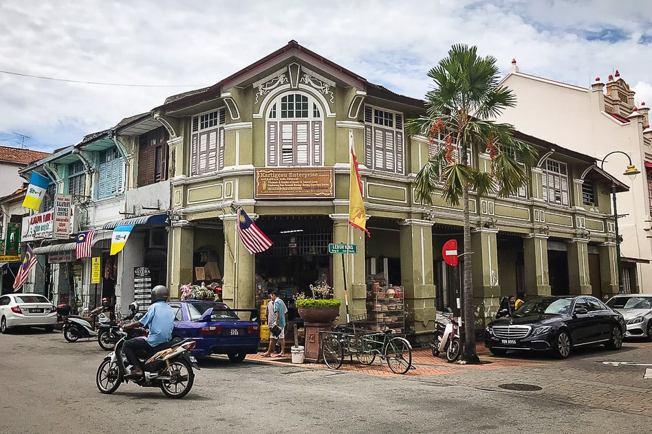 Old Colonial House Little India George Town