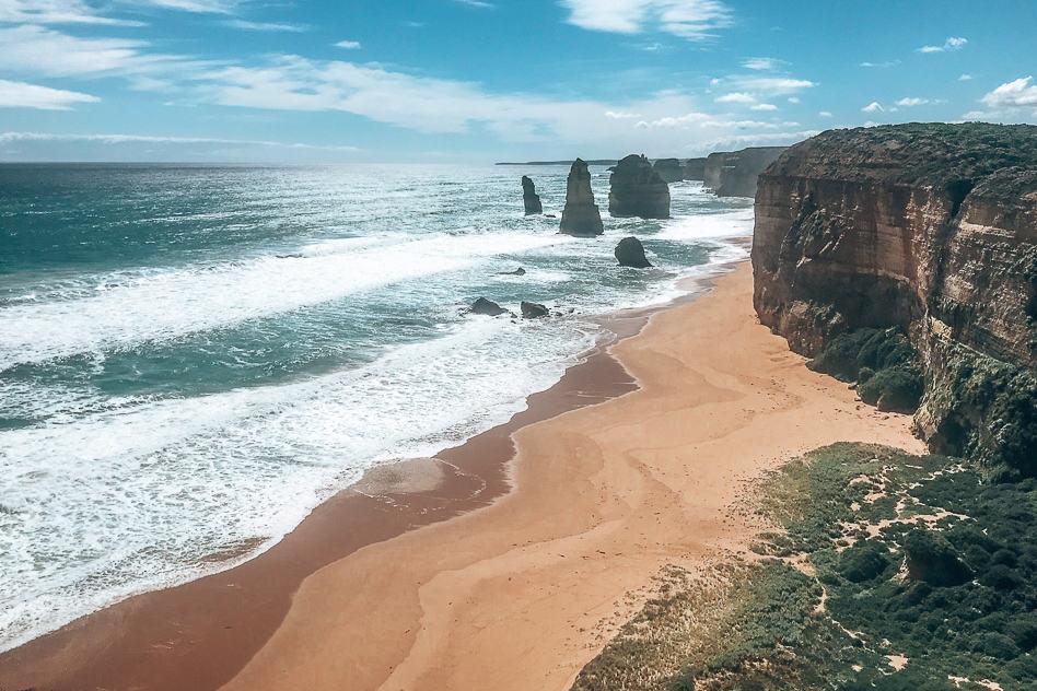 Twelve Apostels Great Ocean Road View Trip