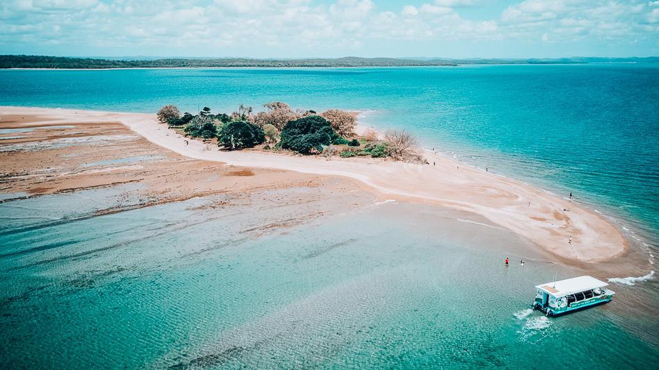 Hervey Bay Eco Marine Tour Boat Island Australia