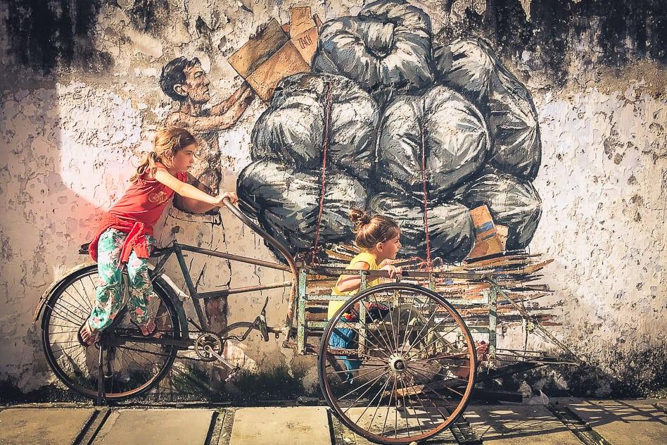 Ipoh Street Art Malaysia Fun Kids