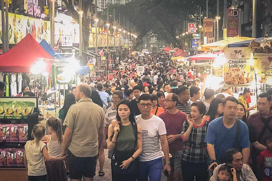 Kuala Lumpur Hawker Street Jalan Alor Food